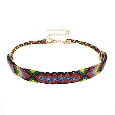 Női Bohém Rövid nyakláncok  -  Bohém Szexi Kézzel Készített Szivárvány Nyakláncok Kompatibilitás Napi Ünnepség Alkalmi