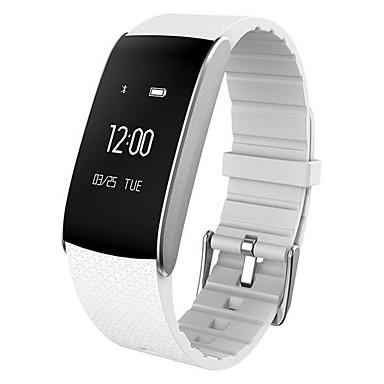 Intelligens karkötő mert iOS / Android Szívritmus monitorizálás / Vérnyomásmérés / Elégetett kalória / Hosszú készenléti idő / Vízálló Lépésszámláló / Hívás emlékeztető / Alvás nyomkövető / ül