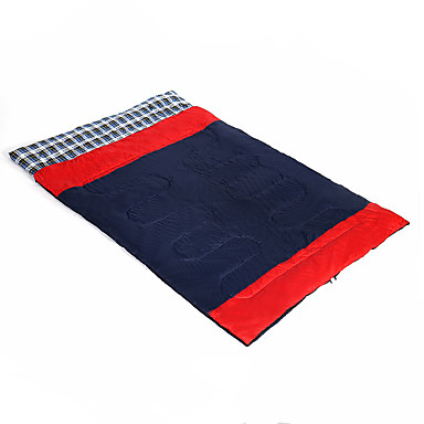LINGNIU® Schlafsack Außen Doppelbett(200 x 200) -10-5°C Rechteckiger Schlafsack warm halten Tragbar Reißfest für Camping & Wandern Reisen