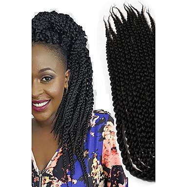 Afro / Schachtel Zöpfe / Havanna Getönte Haarteile zum Flechten 100% kanekalon haare Twist Braids Haar Borten