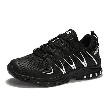 Men's PU(Polyurethane) Fall / Winter Comfort Athletic Shoes Running Shoes Black / White / Black / Red / Royal Blue