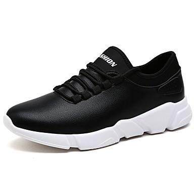 Férfi cipő Bőr Tavasz / Ősz Kényelmes Sportcipők Gyalogló Fehér / Fekete / Kék