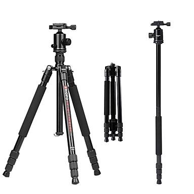 Aluminum-magnesium alloy 50 mm 4 sections Nikon / Canon Tripod
