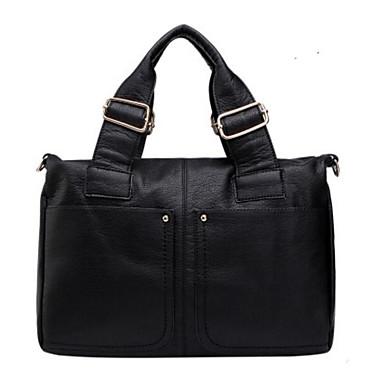 Damen Taschen Kuhfell Umhängetasche für Normal Ganzjährig Blau Schwarz Grau