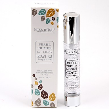 Single Colored Face Primer Dry / Wet / Combination Whitening / Moisturizing / Oil-control Face Oil Free Makeup Cosmetic