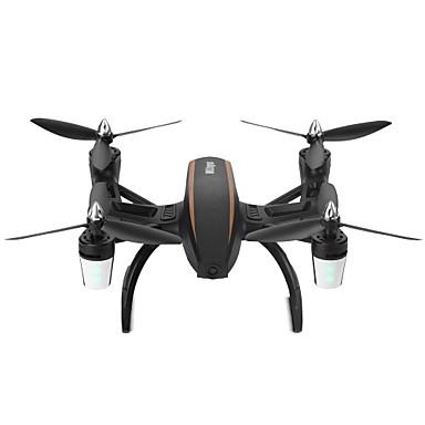 RC Drone WL Toys Q373-B Canal 4 2.4G Com Câmera HD 0.3MP Quadcópero com CR Luzes LED Retorno Com 1 Botão Modo Espelho Inteligente Flutuar