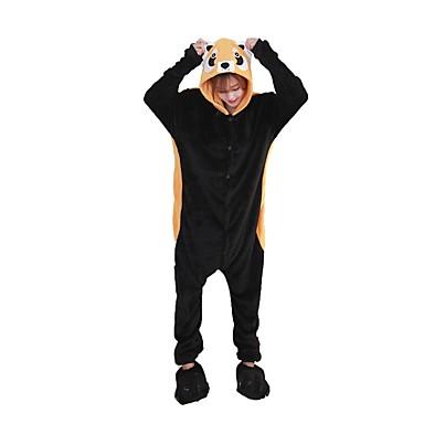 Kigurumi pizsama papuccsal Mosómedve Onesie pizsama Jelmez Φανελένιο Ύφασμα Cosplay mert Felnőttek Allati Hálóruházat Rajzfilm Halloween