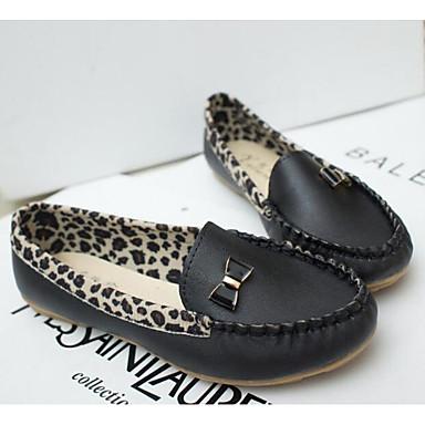 Women's Shoes Oxford / PU(Polyurethane) Spring Comfort Flats White / Black / Yellow