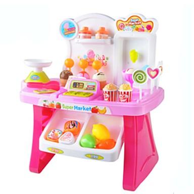 Játékautók Bevásárlás Szerepjátékok Fagylalt- és édességárus játék Zene Fagylalt Műanyagok Lány Gyermek Ajándék