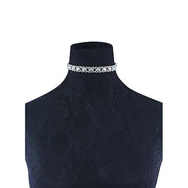 Női Virág Rövid nyakláncok  -  minimalista stílusú Arany Ezüst Nyakláncok Kompatibilitás Esküvő Parti Születésnap