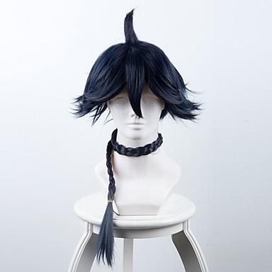 Szintetikus parókák / Jelmez parókák Egyenes Szintetikus haj Paróka Hosszú Jelmez paróka Sapka nélküli