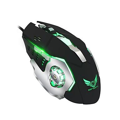 X500DU Vezetékes Gaming Mouse DPI állítható Backlit Több funkciós 800/1600/2400/3200