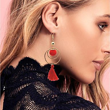 Női Függők / Francia kapcsos fülbevalók - Alap, minimalista stílusú, Divat Fekete / Piros Kompatibilitás Esküvő / Parti / Eljegyzés