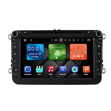 8 Zoll Okta Kern Android 6.0.1 Auto DVD Spieler Multimedia System WiFi Ex-3G Dab für VW Magotan 2007-2011 Golf 5/6 Caddy Polo V 6r Sitz