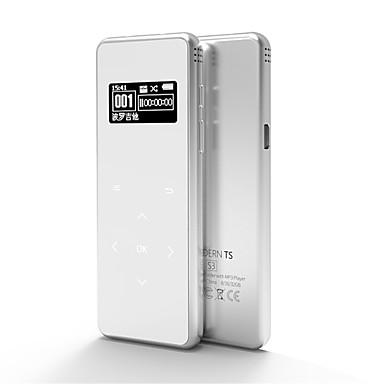S3 Újratölthető Li-ion akkumulátor Beépített hangszóró 3,5 mm Jack dugó Támogatás 16 GB