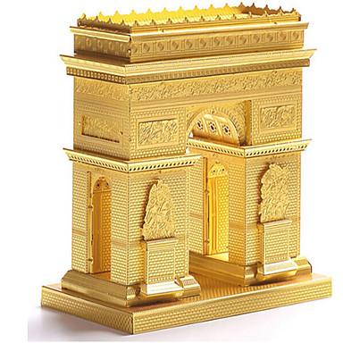 3D - Puzzle Holzpuzzle Metallpuzzle Berühmte Gebäude Architektur 3D Edelstahl Metal Unisex Geschenk