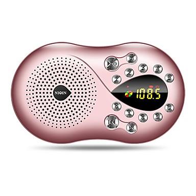 Q5 FM Hordozható rádió FM Rádió / Beépített hangszóró SD-kártyaWorld ReceiverArany / Rózsaszín
