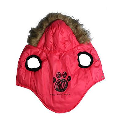 Hund Weste Hundekleidung Lässig/Alltäglich Tier Gelb Rot