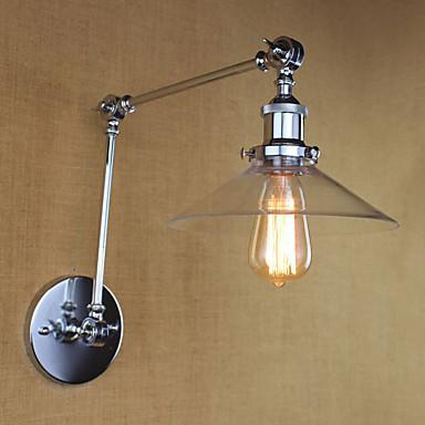 Vintage / Retro / Country Swing Arm Lights Metal Wall Light 110-120V / 220-240V 40 W / E26 / E27
