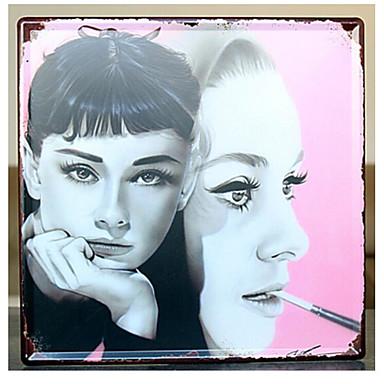جدار ديكور حديد زهري جدار الفن,1