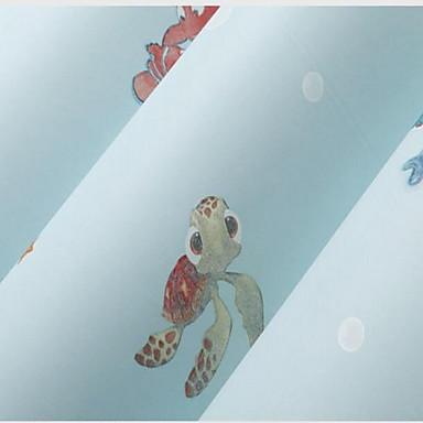 Muster Haus Dekoration Stilvoll Wandverkleidung, Vliesstoff Stoff Klebstoff erforderlich Tapete, Zimmerwandbespannung