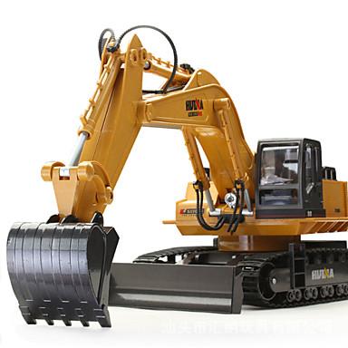 povoljno Radio kontrole Automobili-RC Car HUINA 1510 11 kanal 2.4G radnik na iskopavanju 1:16 Daljinsko upravljanje / Može se puniti / Električni