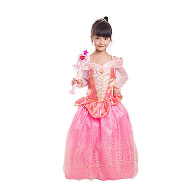 Prinzessin Cinderella Märchen Einteilig/Kleid Mädchen Halloween Karneval Fest/Feiertage Halloween Kostüme Vintage