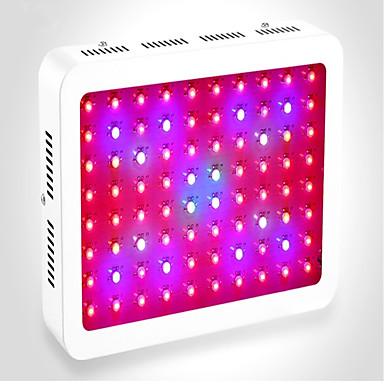 150W 80 LEDs Wachsende Leuchte Grün Blau Rot 85-265V