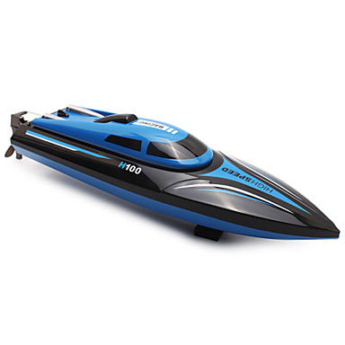 povoljno Radio kontrole Boats-RC Brod TKKJ H100 Gliser ABS 4 pcs kanali Km / h
