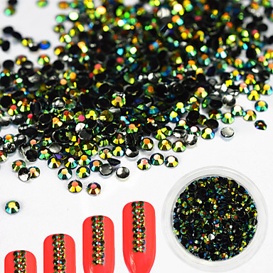 1 pcs Nail DIY Tools Nail Jewelry Rhinestones Lovely / 3D nail art Manicure Pedicure Daily Glitters / Artistic / Fashionable Jewelry