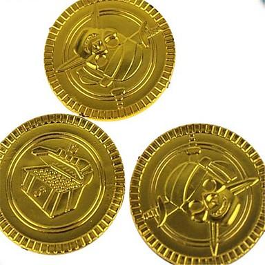 المال والبنوك ألعاب دائري قراصنة حزب البلاستيك الأطفال للأطفال 100 قطع