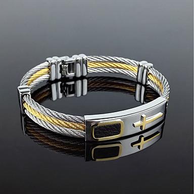 Men's Bracelet - Rock, Gothic, Fashion Bracelet Gold / Silver For Party / Birthday / Gift