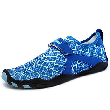 Herren Schuhe Elasthan Sommer Herbst Komfort Leuchtende Sohlen Tauchschuhe Sportschuhe Wasser-Schuhe Für Sportlich Schwarz Hellblau