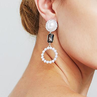 Női Hosszú Fülbevaló - Nyilatkozat, Személyre szabott, Divat Ezüst Kompatibilitás Karácsonyi ajándékok Évforduló Ajándék