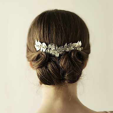 Alloy Tiaras / Hair Combs with 1 Wedding / Special Occasion / Anniversary Headpiece