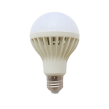 billige Elpærer-1pc 6 W Smart LED-lampe 578 lm 40 LED perler SMD 2835 Lydaktivert Dekorativ Lysstyring Hvit 220 V
