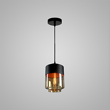 Cylinder Pendant Light Ambient Light - Bulb Included, Adjustable, Designers, 110-120V / 220-240V Bulb Not Included / 10-15㎡ / E26 / E27