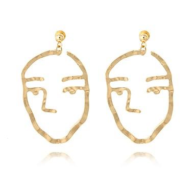 Női Függők - Fémes / Divat Arany Fülbevaló Kompatibilitás Hétköznapi / Előírásos