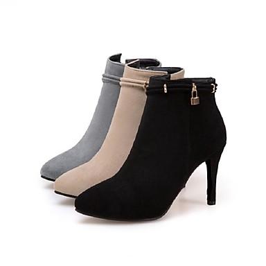 Semelles Botillons 06234759 à Nubuck Personnalisées Confort la Bottes Doublure en Matières Mode fourrure Hiver Bottes Chaussures Cuir Femme Légères qUxPSwUz