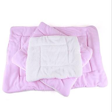 Cica Kutya Ágyak Házi kedvencek Matracok & polifoamok Egyszínű Melegen tartani Összecsukható Mekano Kék Rózsaszín