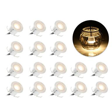 billige Utendørsbelysning-ywxlight® ledet underjordisk lys ip67 vanntett utendørs bakken bane begravd landskap utendørs lys sti trapp dekk lys ac 90--265v