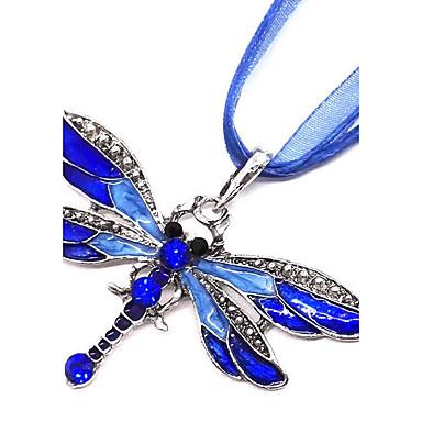 abordables Colliers-Colliers Fantaisie Femme Animal Violet Rouge Bleu clair Colliers Tendance Bijoux pour Cadeau Quotidien