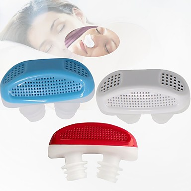 1Pcs Sleeping Aid Anti-Snoring Stop Nose Grinding Air Clean Filter Air Purifying Apparatus Health Care