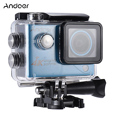 Mini Camcorder High Definition WiFi Waterproof Wide Angle 4K Easy to Carry