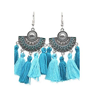 Női Függők Francia kapcsos fülbevalók - Ezüstözött minimalista stílusú, Divat Fekete és ezüst / Kék / Szivárvány Kompatibilitás Esküvő Napi