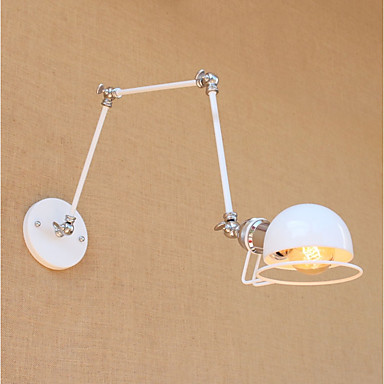 Modern / Contemporary / Retro / Country Swing Arm Lights Metal Wall Light 110-120V / 220-240V 2-60 W / E26 / E27
