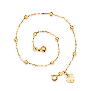 Arannyal bevont - Női Arany Állítható / minimalista stílusú Kör / Circle Shape Bokalánc Kompatibilitás Tengerpart / Alkalmi