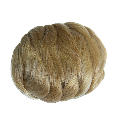 Light Blonde Classic Hair Bun High Quality chignons Synthetic Hair Hair Piece Hair Extension Classic Daily