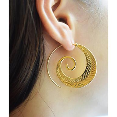 Női Leaf Shape Francia kapcsos fülbevalók - Nyilatkozat / Divat Arany / Ezüst Fülbevaló Kompatibilitás Hétköznapi / Alkalmi