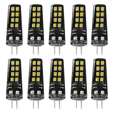 BRELONG® 10pcs 3 W 200 lm G4 LED Bi-pin Lights 16 LED Beads SMD 2835 Warm White / White 12 V